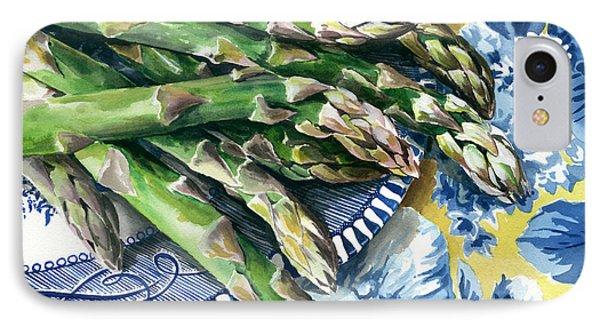 Asparagus Phone Case by Nadi Spencer