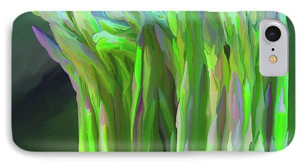 Asparagus Study 01 IPhone Case by Wally Hampton
