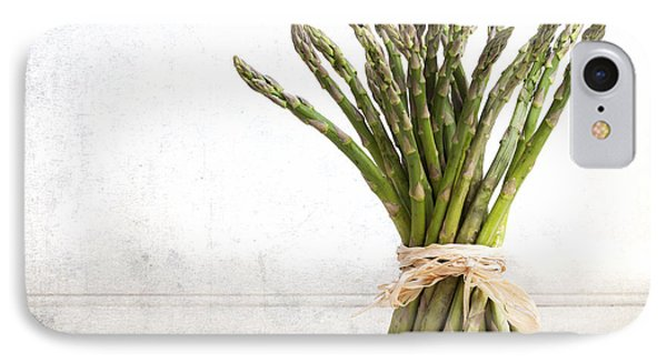 Asparagus Vintage IPhone Case by Jane Rix
