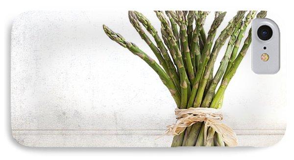 Asparagus Vintage IPhone 7 Case by Jane Rix
