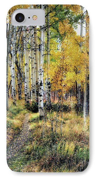 IPhone Case featuring the photograph Aspen Clone by Jim Hill