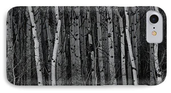 Aspen Forest IPhone Case by Brad Allen Fine Art