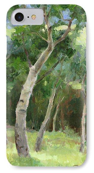 Aspen Grove I IPhone Case by Anna Rose Bain