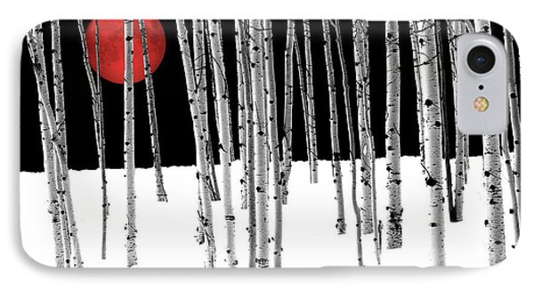 IPhone Case featuring the photograph Aspen Grove Winter by Juli Scalzi