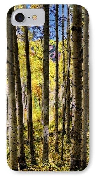 Aspen Mood - Autumn - Colorful Colorado Phone Case by Jason Politte