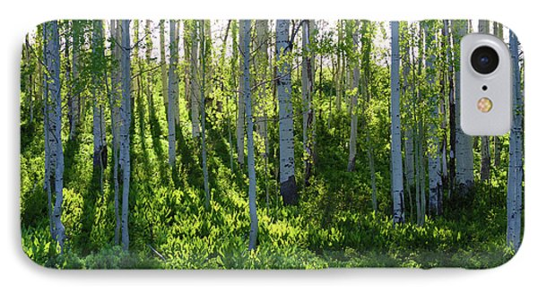 Aspen Morning 1 IPhone Case by Marie Leslie
