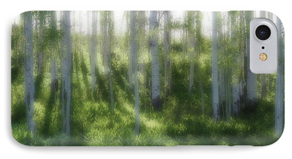 IPhone Case featuring the photograph Aspen Morning 2 by Marie Leslie