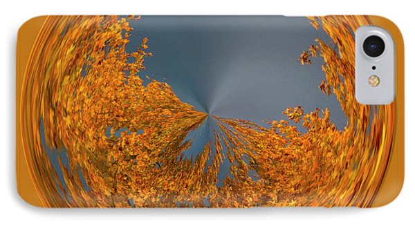 IPhone Case featuring the photograph Aspen Orb by Bill Barber