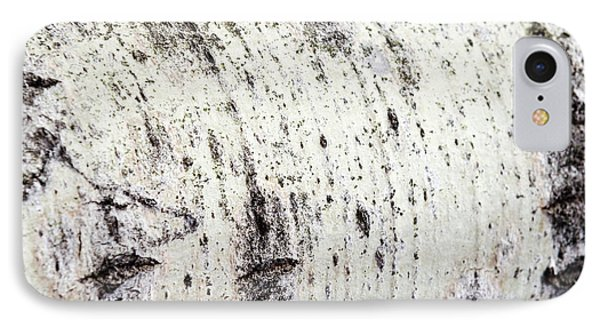 IPhone Case featuring the photograph Aspen Tree Bark by Christina Rollo