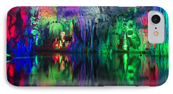 Assembly Dragon Cave IPhone Case by Wade Aiken