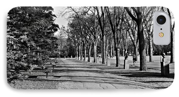 IPhone Case featuring the photograph Assiniboine Park by Cendrine Marrouat
