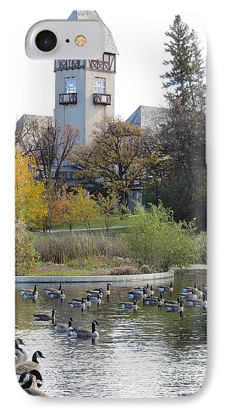 Assiniboine Park Pavilion Phone Case by Mary Mikawoz