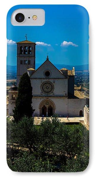 Assisi-basilica Di San Francesco IPhone Case