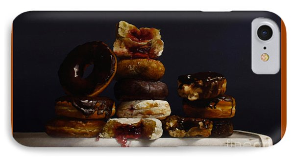 Assorted Donuts IPhone Case by Larry Preston