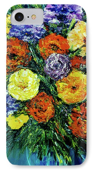 Assorted Flowers #191 Phone Case by Donald k Hall