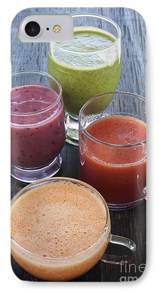 Assorted Smoothies IPhone Case