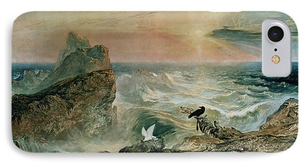 Assuaging Of The Waters Phone Case by John Martin