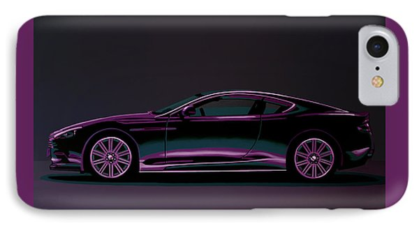 Aston Martin Dbs V12 2007 Painting IPhone Case