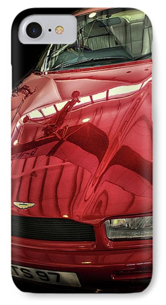 Aston Martin IPhone Case by Martin Newman