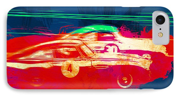 Aston Martin Vs Porsche IPhone Case by Naxart Studio