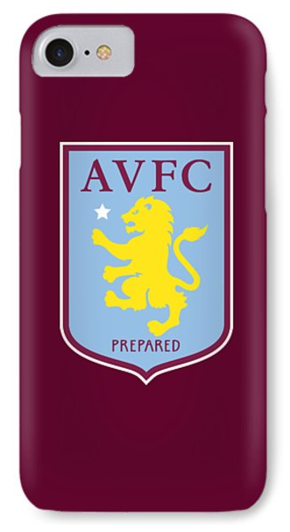 aston villa iphone 7 case