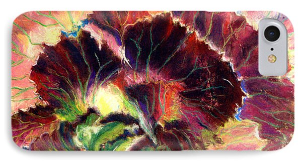 Astonishing Cabbage  Pastel IPhone Case by Antonia Citrino