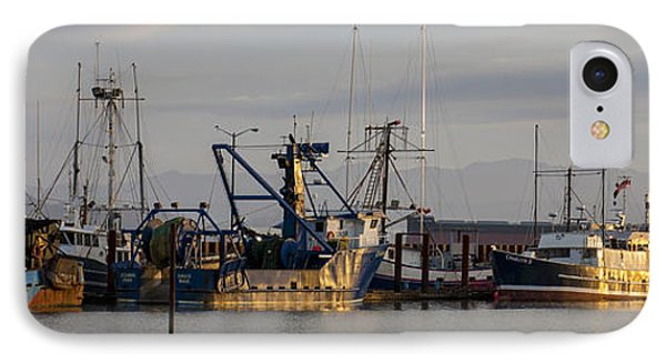 Astoria Fishing Fleet At Dawn IPhone Case