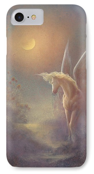 Astral Pegasus Phone Case by Jack Shalatain
