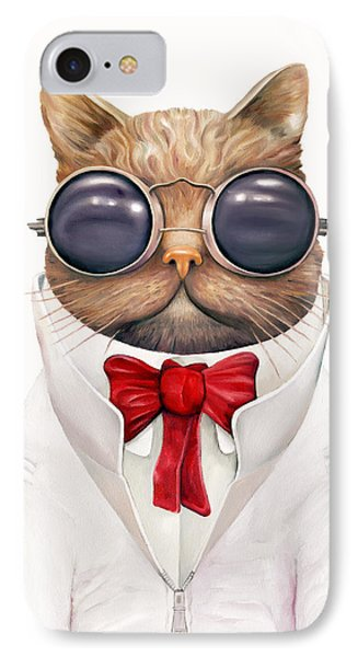 Astro Cat IPhone Case by Animal Crew