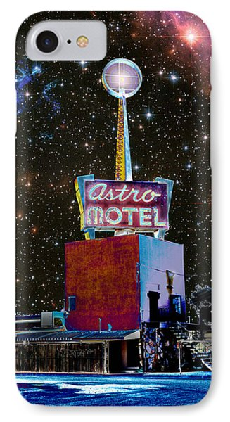 IPhone Case featuring the photograph Astro Motel by Jim and Emily Bush