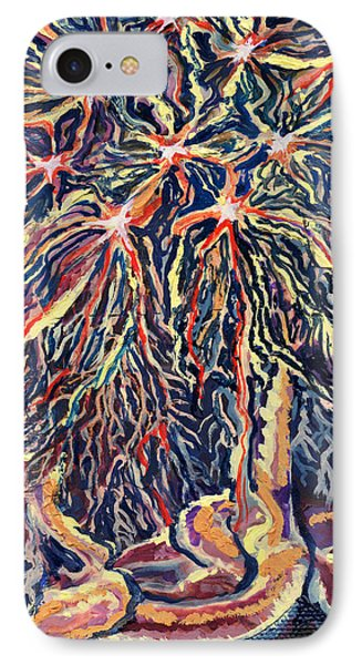 Astrocytes Microbiology Landscapes Series Phone Case by Emily McLaughlin