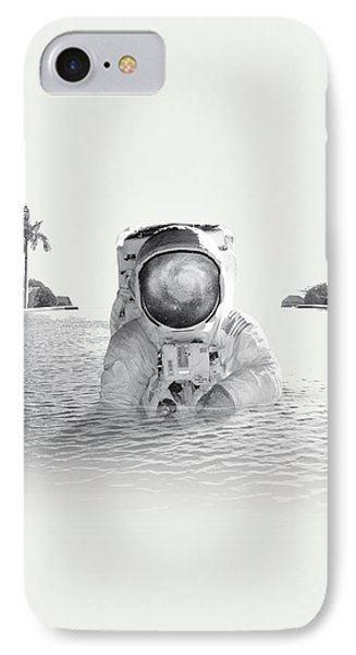 Astronaut IPhone 7 Case by Fran Rodriguez