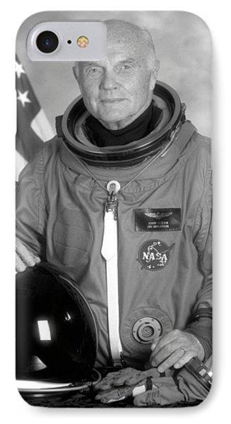 Astronauts iPhone 7 Case - Astronaut John Glenn - 1998 by War Is Hell Store