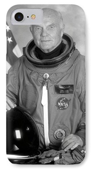 Astronaut John Glenn IPhone Case by War Is Hell Store