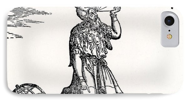 Astronomer, Probably Ptolemy Of Alexandria IPhone Case