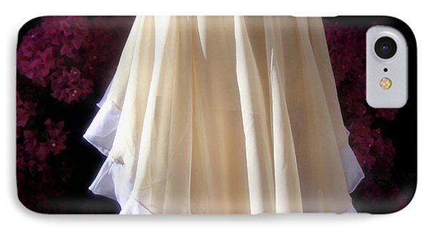 Asymmetrical Skirt, Beige-white. Ameynra Fashion IPhone Case by Sofia Metal Queen