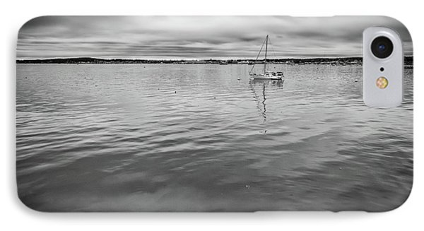 At Anchor In The Harbor IPhone Case