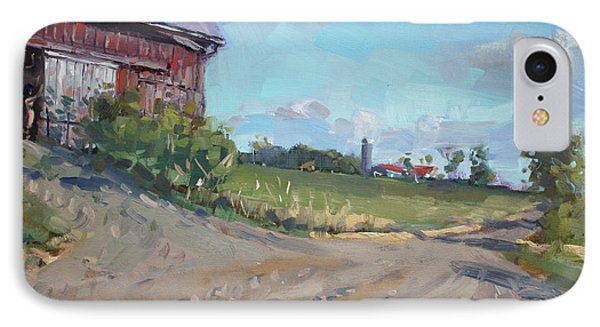 At Barn In Georgetown On IPhone Case by Ylli Haruni