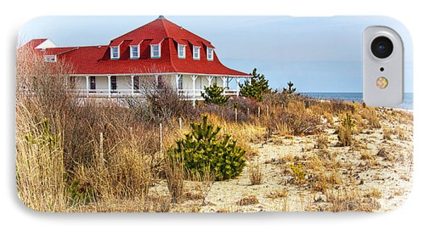 At Cape May Point IPhone Case by Carolyn Derstine