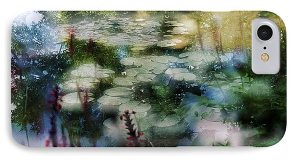 IPhone 7 Case featuring the photograph At Claude Monet's Water Garden 2 by Dubi Roman