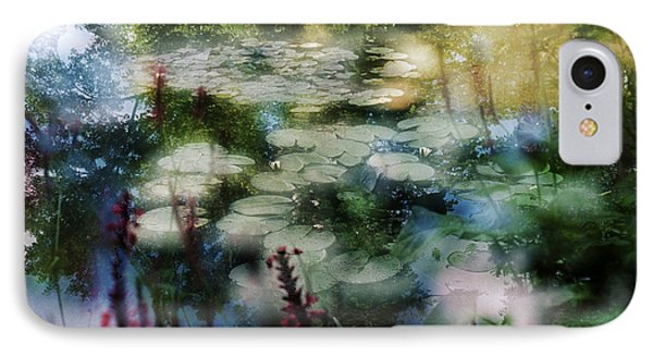 IPhone Case featuring the photograph At Claude Monet's Water Garden 2 by Dubi Roman