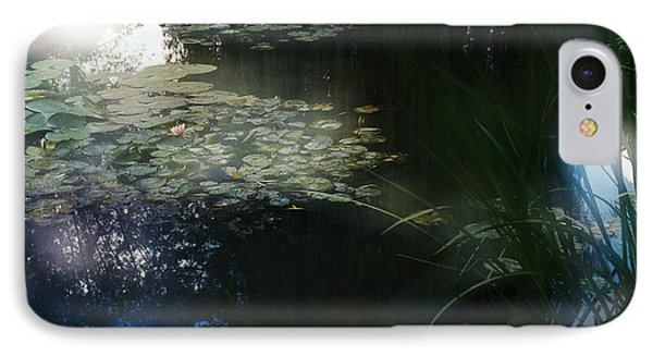 IPhone Case featuring the photograph At Claude Monet's Water Garden 3 by Dubi Roman