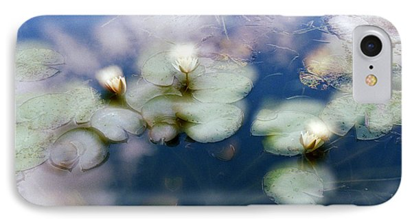IPhone Case featuring the photograph At Claude Monet's Water Garden 4 by Dubi Roman