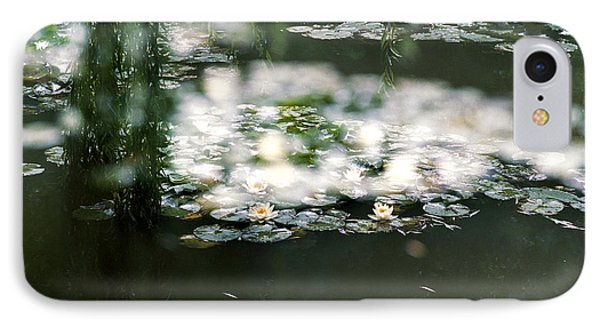 IPhone 7 Case featuring the photograph At Claude Monet's Water Garden 5 by Dubi Roman