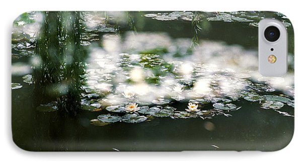 IPhone Case featuring the photograph At Claude Monet's Water Garden 5 by Dubi Roman