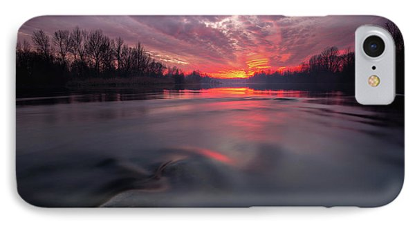 IPhone Case featuring the photograph At End Of The Day by Davorin Mance