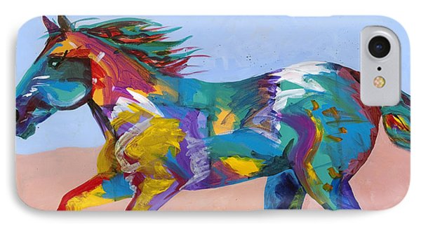At Full Gallop Phone Case by Tracy Miller