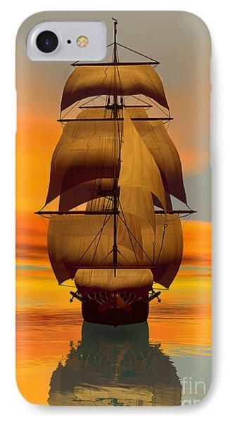 At Full Sail IPhone Case