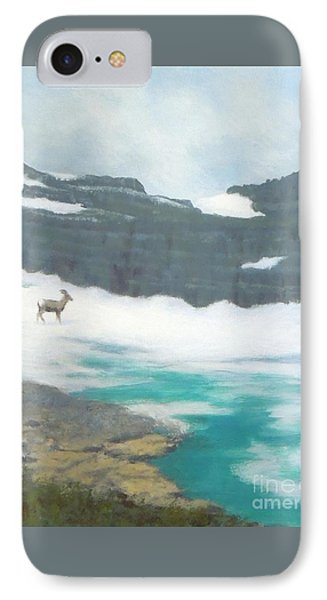 At Grinnell Glacier IPhone Case