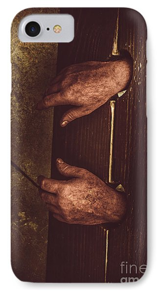 At Hand Of Public Humiliation IPhone Case by Jorgo Photography - Wall Art Gallery